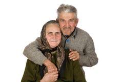par starsze osoby Obraz Royalty Free