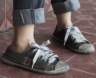 par starzy sneakers Zdjęcie Royalty Free