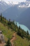 Paraíso alpino imagem de stock