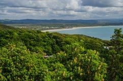 Paraíso Byron Bay de la persona que practica surf Fotografía de archivo libre de regalías