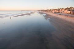 Paraíso costero meridional de California Fotografía de archivo