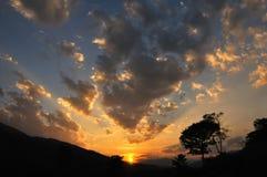 Paraíso da nuvem Imagem de Stock