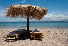Paraíso da praia Fotos de Stock