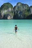 Paraíso da praia de Tailândia fotografia de stock