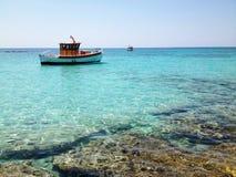Paraíso de Elafonisi Fotos de Stock