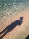 Paraíso de Elafonisi Greece Praia bonita de Elafonisi T de surpresa Imagens de Stock Royalty Free