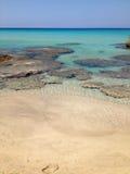 Paraíso de Falasarna Imagem de Stock