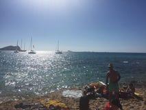 Paraíso de Ibiza Fotografia de Stock