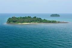 Paraíso de la isla Foto de archivo libre de regalías