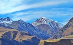 Paraíso de la montaña de la nieve Foto de archivo libre de regalías