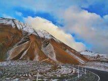Paraíso de la montaña de la nieve Fotografía de archivo