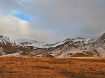 Paraíso de la montaña de la nieve Fotos de archivo