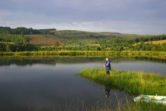 Paraíso de la pesca Imagen de archivo libre de regalías