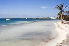 Paraíso de la playa Imágenes de archivo libres de regalías