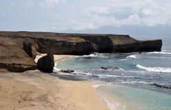 Paraíso de la playa en Djeu Imagen de archivo