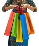 Paraíso de las compras de Asia imagen de archivo libre de regalías