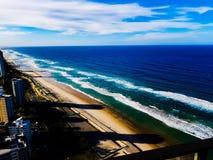 Paraíso de las personas que practica surf foto de archivo