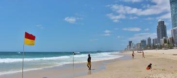 Paraíso de las personas que practica surf Imagen de archivo libre de regalías