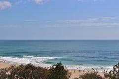 Paraíso de las personas que practica surf Foto de archivo libre de regalías