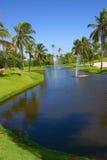 Paraíso de los golfistas Fotos de archivo libres de regalías