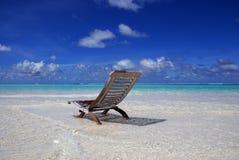 Paraíso de Maldives Foto de archivo