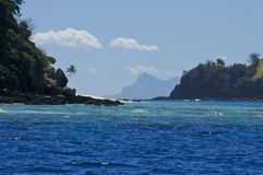 Paraíso de South Pacific Imagens de Stock Royalty Free