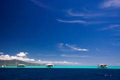 Paraíso del centro turístico del mar del Caribe Imagen de archivo