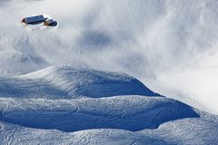 Paraíso del deporte de invierno Imagen de archivo