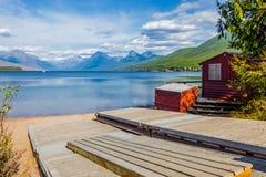 Paraíso del glaciar Fotos de archivo libres de regalías