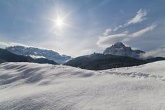 Paraíso del invierno Imagen de archivo libre de regalías