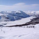 Paraíso del invierno Foto de archivo libre de regalías