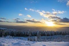 Paraíso del invierno Imagen de archivo