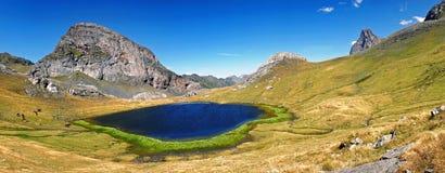 Paraíso del lago Fotografía de archivo