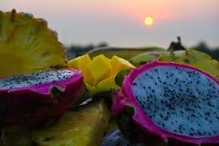 Paraíso do fruto imagens de stock royalty free