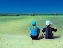 Paraíso do lago Fotos de Stock Royalty Free