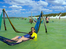 Paraíso do lago Imagem de Stock Royalty Free
