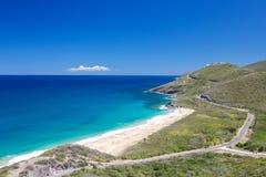 Paraíso el Caribe de la playa fotografía de archivo libre de regalías