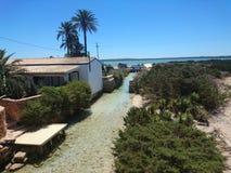 Paraíso em algum lugar na Espanha Imagens de Stock Royalty Free