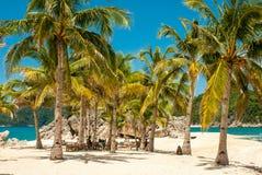 Paraíso en la isla tropical remota Imagen de archivo