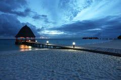 Paraíso en la noche Imagen de archivo libre de regalías