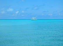 Paraíso en las aguas claras de Bermudas Fotos de archivo