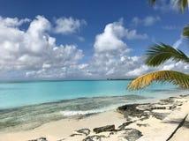 Paraíso en las Bahamas imagenes de archivo