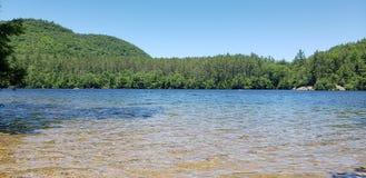 paraíso escondido do lago fotografia de stock royalty free