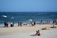 Paraíso Gold Coast Queensland Austrália dos surfistas Imagem de Stock