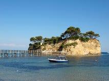 Paraíso griego Imagenes de archivo