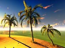 Paraíso havaiano Foto de Stock