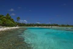 Paraíso ideal tropical da praia Fotografia de Stock