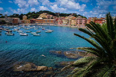 Paraíso italiano del océano Fotografía de archivo