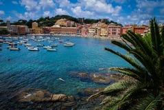 Paraíso italiano do oceano Fotografia de Stock