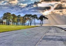 Paraíso litoral imagem de stock royalty free